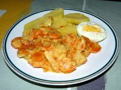 Dušená mrkev bez masa - Frau.cz Shrimp, Food, Gingham Quilt, Diet, Hoods, Meals