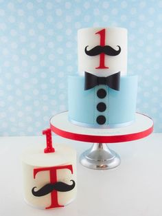 You have to see Little Man first birthday cake on Craftsy!