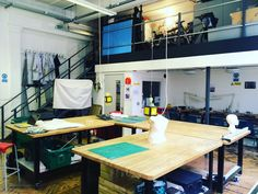 Just me myself and I in the workshop today #peaceful #shoedesign #lcf