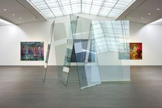 S.M.A.K. organises the first museum exhibition of work by Gerhard Richter in Belgium since 1976.