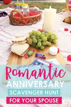 Use these scavenger hunt riddles to create a perfect at-home anniversary picnic date to surprise your sweetie with! Complete with free printable clue cards! Creative Date Night Ideas, Romantic Date Night Ideas, Romantic Dates, Romantic Gifts, Christmas Scavenger Hunt, Scavenger Hunt Birthday, Romantic Anniversary, Anniversary Dates, Anniversary Scavenger Hunts