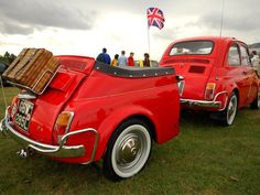 """Fiat 500 """"combo"""" - fascinating concept."""