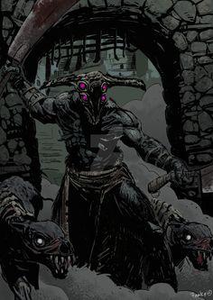 Dark Souls | Capra Demon