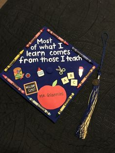 20 Graduation Caps for Teachers - Graduation pictures,high school Graduation,Graduation party ideas,Graduation balloons