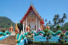 Temple, Phuket, Thailand