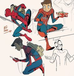 did you think I was done #spiderman #spidermanhomecoming Grace Liu