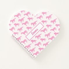 Young Girl's Pink Glitter Horses with Name Notebook running on, running watch, running for beginners weightloss #macros #fitspo #fitnessinspiration, back to school, aesthetic wallpaper, y2k fashion Page Design, Cover Design, Maze Runner Quotes, Horse Pattern, Thing 1, Nursery Design, Repeating Patterns, Animal Design, Pink Glitter