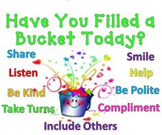You can't see the bucket but it's there and it is our responsibility to fill that bucket. Description from switlik.jacksonsd.org. I searched for this on bing.com/images