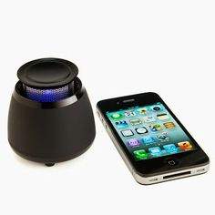 This wireless bluetooth speaker is so convenient to obtain music with you around the home. The sound quality is pretty booming for how tiny this thing is, which makes it quickly mobile, too. The glowing speaker makes it very easy to find if you are holding outside at night., compatible with any apple iphone.