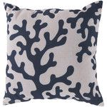 Bethany Coral Throw Pillow