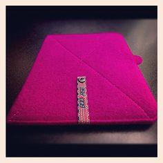 iPad Sleeve mod. Arvada, Colorado_Fuxia by Bookase.it $50