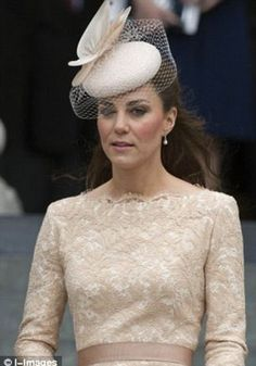 Kate Middleton wearing one of Jane Taylor's designs