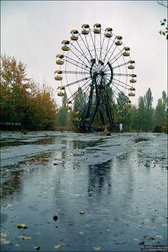 Ferris Wheel near Chernobyl and Pripyat
