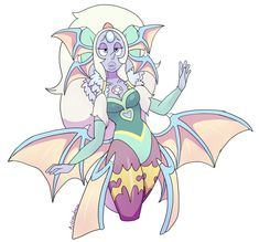 Succubus Opal by AngeliccMadness on DeviantArt Fanart, Funny Anime Pics, Pearl Steven, Steven Universe Memes, Anime Weapons, Fantasy Dragon, Universe Art, Character Illustration, Cute Art