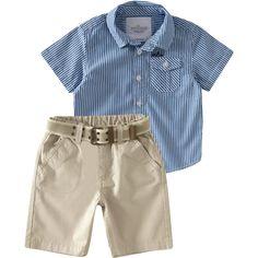 Conjunto Masculino Infantil Esporte Chique Azul - Milon :: 764 Kids | Roupa bebê e infantil