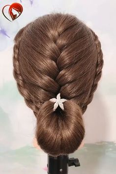 Want to know more about bridal hair Pretty Braided Hairstyles, Easy Hairstyles For Long Hair, Creative Hairstyles, Braids For Long Hair, Bride Hairstyles, Hairstyle Man, Front Hair Styles, Medium Hair Styles, Hair Style Vedio