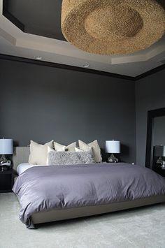 1000 images about bedroom on pinterest masculine for Masculine grey bedroom