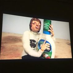 Janie's debuted her modern day Romeo and Juliet  love story between a vegan and a bottle of Hidden Valley  Ranch this evening on the big screen- couldn't be more prow