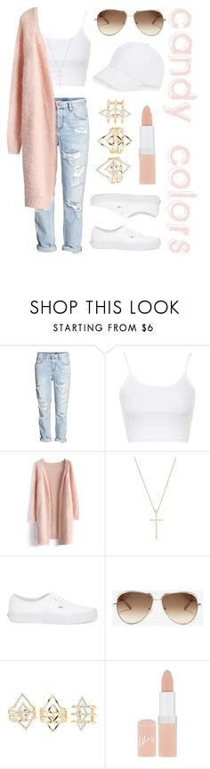 """Spring Outfit"" by aurorabvik ❤ liked on Polyvore featuring H&M, Topshop, Chicwish, Tiffany & Co., Vans, Chloé, Charlotte Russe, Rimmel, Talbots and StreetStyle"