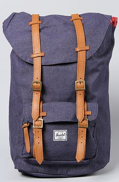 HERSCHEL SUPPLY The Little America Backpack in Dark Denim : Karmaloop.com - Back in stock!