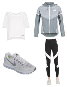 """Cheerleading"" by breadstix ❤ liked on Polyvore featuring NIKE"