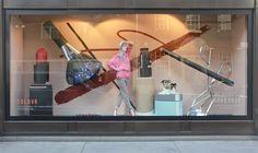 Selfridges Beauty Workshop windows by Studio XAG, London » Retail Design Blog