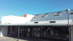 The Store -   After new #IBR Roof Sheets have been installed #galv #galvanized #refurbish #paramountroofing
