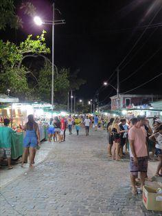 Passarela do descobrimento em Porto Seguro Bahia.