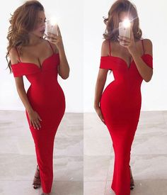 This Pretty Woman Gown has arrived! @whiterunway Available in Red and Black and also in midi length. Link to shop in our Bio #whiterunway #lovenookie #ootd #reddress