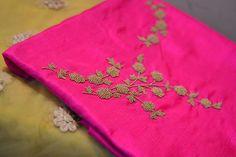 Buy Designer Kurtis Online, Buy Pakistani, Anarkali, & W Kurtis Online Embroidery On Kurtis, Kurti Embroidery Design, Hand Work Embroidery, Hand Embroidery Designs, Embroidery Dress, Beaded Embroidery, Embroidery Patterns, Kurtha Designs, Embroidered Kurti