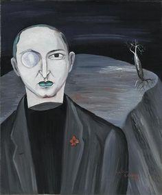 Portrait of Claude Sernet - Victor Brauner