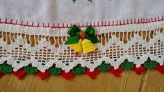 Luty Artes Crochet: barrados de natal