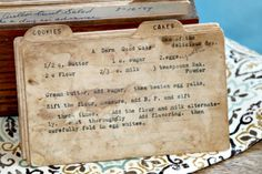 Step back in time with this vintage A Darn Good Cake recipe. Read about this recipe card's history and view other recipes at the Vintage Recipe Project