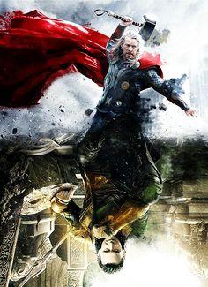 Thor & Loki: this is beautiful