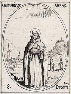 St. Romaric pray for us.  Feast day December 8.