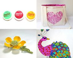 Somewhere Over the Rainbow by Sarah Francis on Etsy