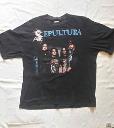 1994 Sepultura T Shirt by SeanScoil on Etsy