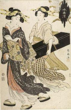 Artist: Katsukawa Shunsen Title:MINAZUKI (JUNE) Date:Edo period, Middle, 1704-1789