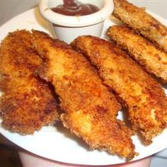 Baked Ranch and Parmesan Chicken _ cup crushed corn flakes cup grated Parmesan cheese 1 ounce) envelope ranch salad dressing mix 8 ounce) skinless, boneless chicken breast halves cup butter, melted Think Food, I Love Food, Food For Thought, Good Food, Yummy Food, Tasty, Baked Chicken, Boneless Chicken, Gastronomia