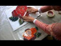 TUTORIAL MOSAIQUISMO SOBRE MALLA DE FIBRA - YouTube