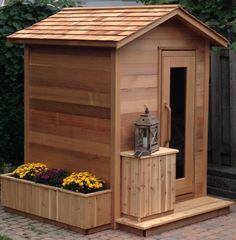 Cedar Cabin, Cedar Roof, Red Cedar, Sauna Steam Room, Sauna Room, Outdoor Sauna Kits, Modern Saunas, Rustic Saunas, Building A Sauna