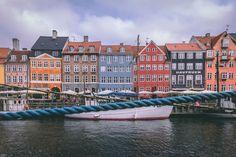 Destinations with colourful buildings-Copenhagen-Denmark Top 10 Destinations, Colourful Buildings, Camper Life, Copenhagen Denmark, Social Platform, Campsite, Amazing Photography, Maine, Europe
