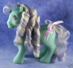 Vintage G1 My Little Pony Mint Dreams Candy Cane Ponies MLP 1988 1989 Year 7   eBay
