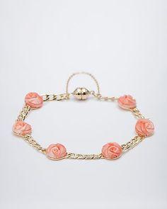 Tiefseekorallen-Armband   #sognidoro #sogni #doro #schmuck #edelstein #bracelet