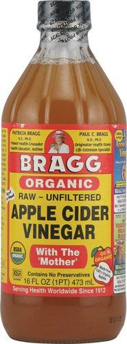 Bragg Organic Raw Unfiltered Apple Cider Vinegar With The Mother Unflavored  16 fl oz  2pc *** Click image for more details.