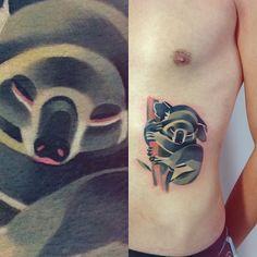 Sasha Unisex é uma tatuadora russa especializada em Tatuagens em Estilo Aquarela e de formas geométricas. Veja sua arte e inspire-se para sua próxima tattoo