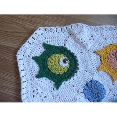 Fish puzzle baby blanket Crochet pattern by Nezhlya gyuldzhu Crochet Fish, Crochet Yarn, Crochet Hooks, Crochet Blanket Patterns, Baby Blanket Crochet, Crochet Blankets, Christmas Knitting Patterns, Paintbox Yarn, Red Heart Yarn