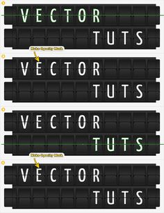 Quick Tip: Create an Airport Time Table Type Effect - Envato Tuts+ Design & Illustration Tutorial