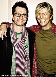 On David Bowie: 'I've known him for years but we had lost touch a bit. Now we've reconnected,' said Gary
