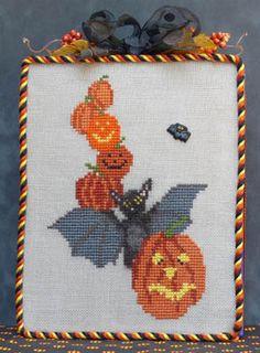 Halloween Bat - Cross Stitch Pattern